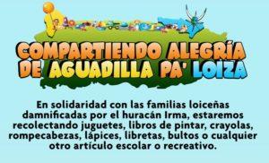 Aguadilla envía juguetes para los niños de Loíza