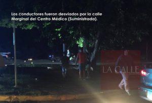 Fue un peatón atropellado lo ocurrido esta noche frente al Centro Médico de Mayagüez (Adelanto y fotos)