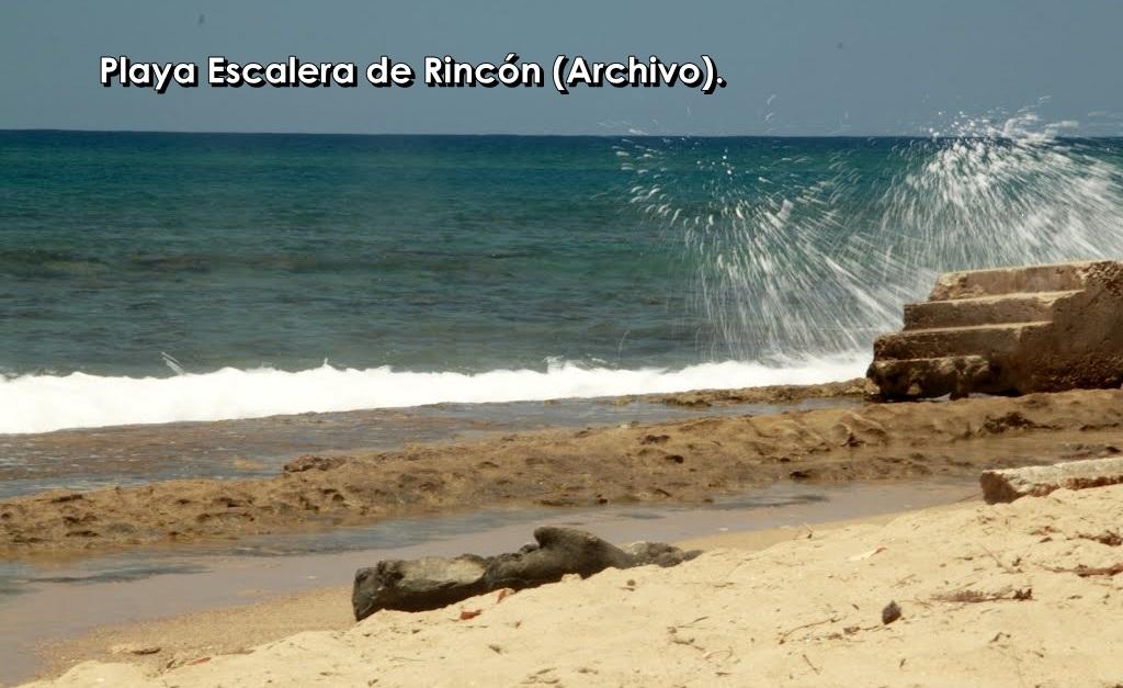 playa escalera archivo