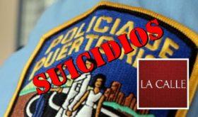 suicidios logo policia y la calle
