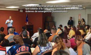 Más ojos en la calle… Arrancan sobre 30 nuevos inspectores del CRIM a fiscalizar órdenes de DACO
