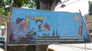 """Insólita decisión… Ordenan cierre """"de hoy para hoy"""" de escuela que tiene agua, luz, suficiente matrícula y está """"ready"""" para recibir a sus alumnos en Hormigueros (Fotos)"""