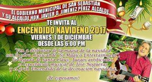 """San Sebastián también se """"enciende"""" este viernes para esta temporada navideña"""
