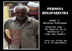 """No lo han visto desde María… Sigue desaparecido """"El Negrito de la Harmónica"""" de Sabana Grande"""