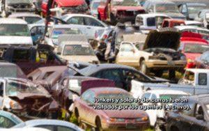"""Multas y denuncias contra """"junkers"""" y solares de venta de carros en San Germán y Cabo Rojo"""