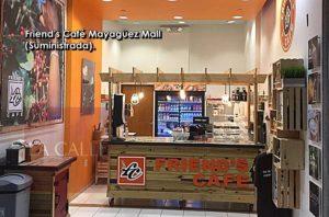 Desde las 8:00 a.m… Abre hoy viernes Friend's Café del Mayagüez Mall