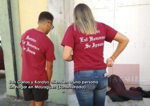 Jan Carlos y Koralys… Jóvenes mayagüezanos dignos ejemplos de altruismo y empatía (Fotos)