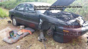 Carro le cae encima a ciudadano que intentaba repararlo esta tarde en Aguada