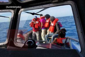 En Desecheo y Aguada… Atrapan 39 indocumentados dominicanos que intentaban entrar ilegalmente a Puerto Rico en Año Nuevo (Fotos)