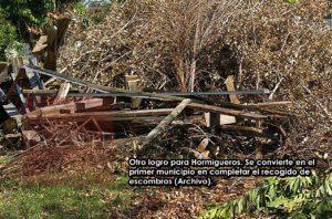 Hormigueros es el primer municipio en completar la remoción de escombros en Puerto Rico