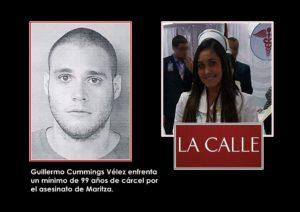 Se declara culpable en todos los delitos uno de los asesinos de la enfermera Maritza