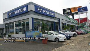 """Le """"echan el guante"""" a sujeto que se robó un carro de """"dealer"""" Hyundai de Mayagüez"""