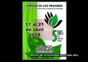 A pesar de serios señalamientos… Municipio de Mayagüez auspicia 5 Días con Nuestra Tierra