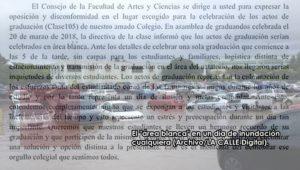 """Estudiantes RUM opuestos a celebración de graduación este año en estacionamiento """"Área Blanca"""""""