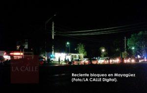 Anticipan más bloqueos este fin de semana en la región policíaca de Mayagüez