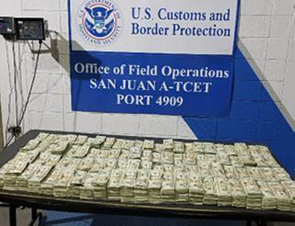 dinero confiscado ferry