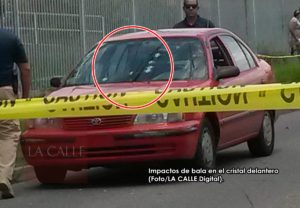 Asesinan sujeto dentro de un carro cerca del mediodía de hoy en Mayagüez (Adelanto y fotos)