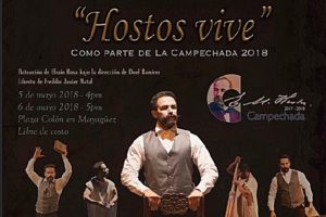 Hostos vive: El monólogo sobre el Ciudadano de América sube a escena en La Campechada 2018