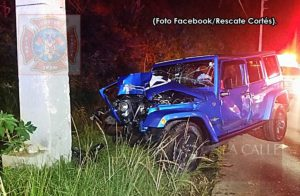 Conductor se quedó dormido… Accidente fatal esta madrugada en Aguada