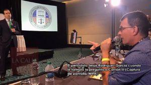 Asociación de Periodistas repudia contestación de Carrión III al periodista Jesús Rodríguez García