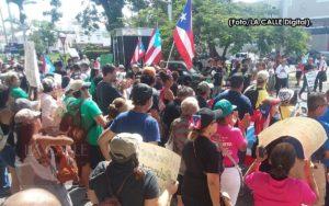 Transcurre en orden manifestación del 1 de mayo en Mayagüez (Fotos)