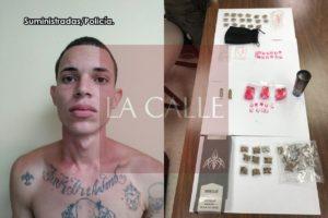 Agarran con drogas a sospechoso de varios delitos en región policíaca de Mayagüez