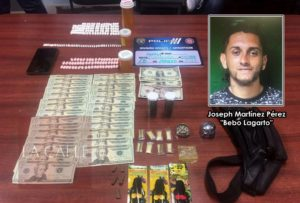 """Arrestan a """"Bebo Lagarto"""" durante allanamiento por drogas en Isabela"""