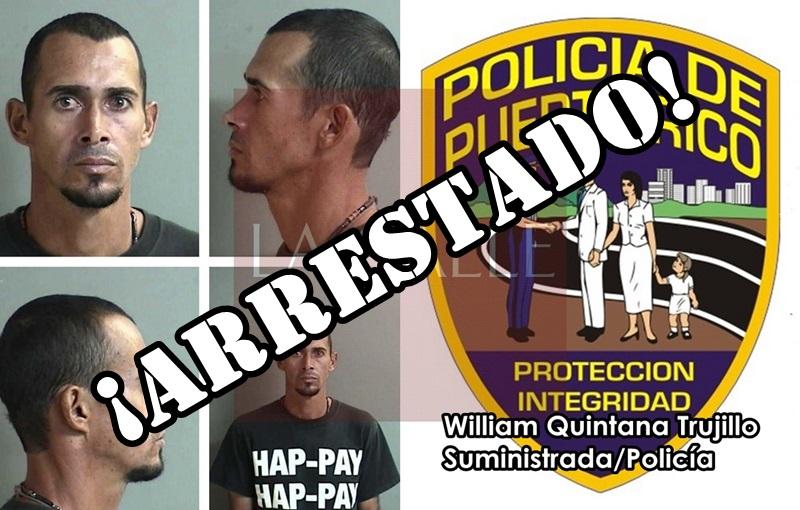 William Quintana Trujillo arrestado wm