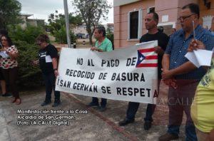 Activo primer día de vistas públicas sobre propuesta para cobrar por recogido de basura en San Germán (Fotos)