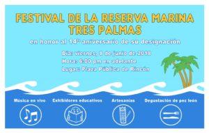 Celebrarán este viernes Festival de la Reserva Marina Tres Palmas en Rincón