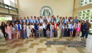 Comenzando con el pie derecho… Estudiantes de escuela superior obtienen créditos universitarios en el Colegio de Mayagüez