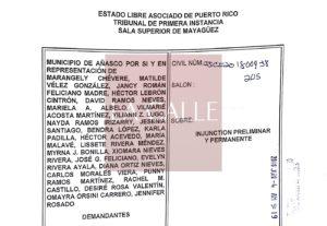 Alcalde de Añasco acude al Tribunal para detener cierre de escuelas en su pueblo