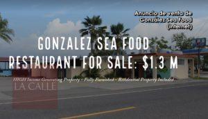 Poy se retira… A la venta González Sea Food por $1.3 millones