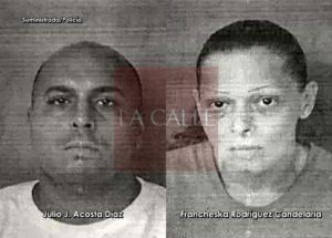 """El individuo es buscado en Florida por múltiples delitos… Cae pareja vecina de Candelaria que """"se tumbó"""" más de $2 mil en mercancía del Walmart de Mayagüez Mall"""