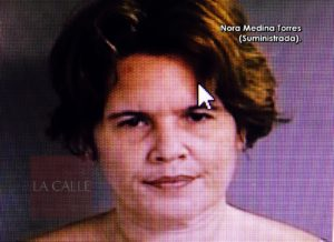 """Bajo fianza y con """"grillete"""" mujer que le """"tajeó"""" la cara a su expareja en Aguadilla"""
