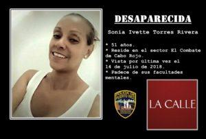 Intentan dar con el paradero de una mujer desaparecida en sector El Combate de Cabo Rojo