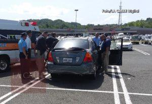 Su pareja termina con él y decide suicidarse en el estacionamiento del Mayagüez Mall (Fotos)