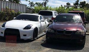 """Por regateo tipo """"The Fast & The Furious""""… Confiscan dos carros que """"volaban bajito"""" en Isabela"""