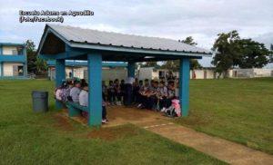 """Un """"desastre"""" en las llamadas escuelas receptoras del Oeste en el comienzo de clases (Fotos)"""