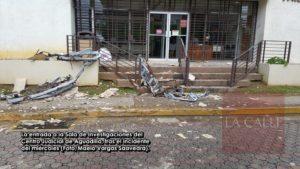 Al menos una persona lesionada… Cae esta tarde alero de la entrada de Sala de Investigaciones de Aguadilla