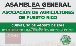 Por primera vez en el oeste… Asamblea anual de la Asociación de Agricultores de Puerto Rico