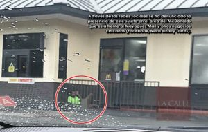 """Madre desesperada ruega que no le hagan daño… Intentan localizar sujeto que lo han visto masturbándose en la entrada de """"fast foods"""" en Mayagüez"""
