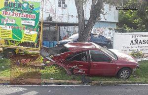 Identifican al jardinero que murió en accidente ocurrido esta mañana en Añasco