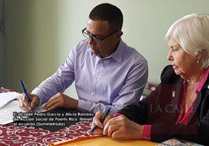 Firman acuerdo para fomentar la enseñanza y la cultura en Hormigueros