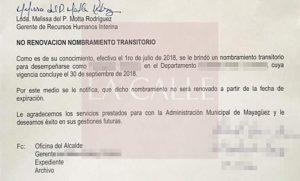 Algunos llevaban hasta 20 años en su empleo… Botan 150 empleados transitorios en el Municipio de Mayagüez (Documento)