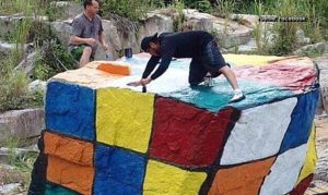 """""""Grafiteros"""": ¿Quieren expresar su """"arte""""? Escojan mejor los lugares donde pintan"""