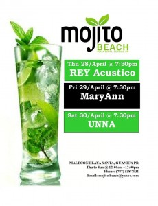 mojito ultimo weekend abril