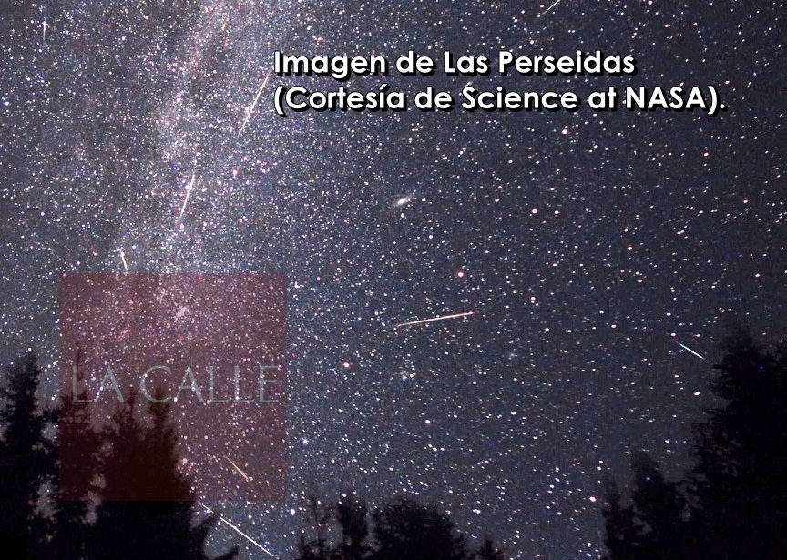Imagen de Las Perseidas (Science at NASA) wm